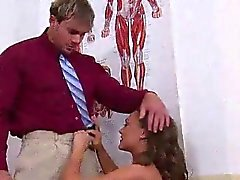 cute schoolgirl caught naked by the dean