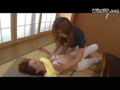 Girl And Woman Asian Lesbians