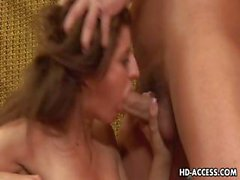 Nasty Italia Christie deep throat and hard fuck