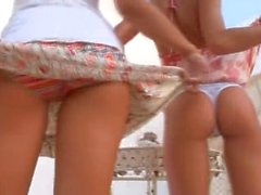 Two slovak chicks naked outdoor