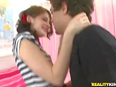 Young Sensi Pearl enjoys big cock