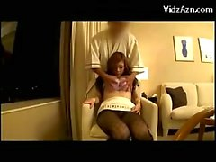 Cute Young Girl Getting Her Tits Rubbed Pantyhose Shreded Pussy Licked Fingered While Sitting In The Armchair