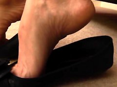 Foot fetish massaged feet