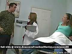 Young pregnant slut goes to the doctor